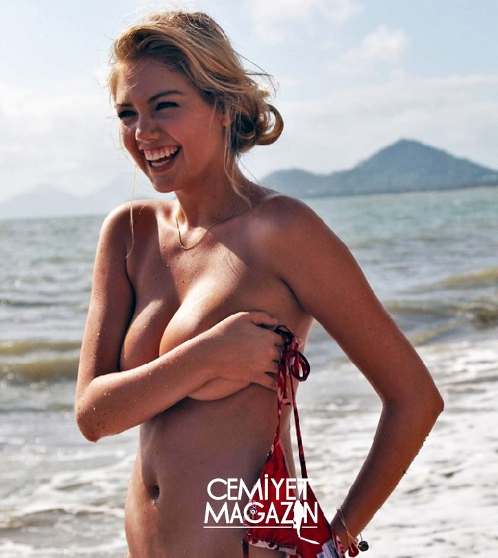 Kate Upton Sports Illustrated için çekimde