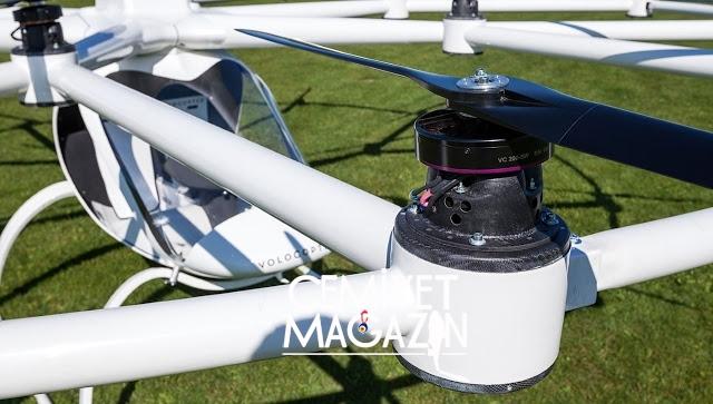 İnsan taşıyan Drone